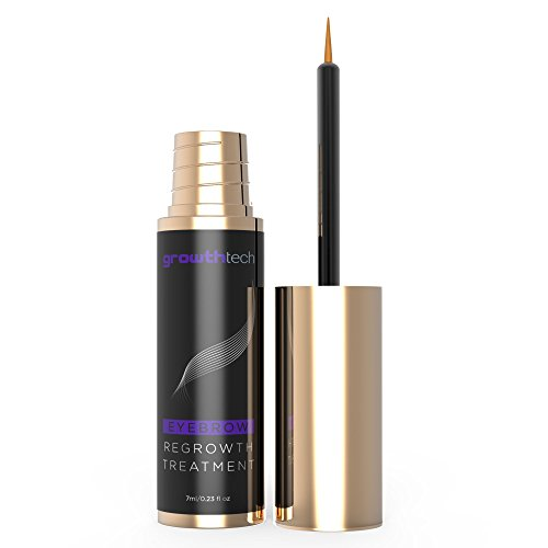 GrowthTech - Eyebrow Growth Enhancer Serum - Thicker - Longer - Castor Oil and Peptides ()