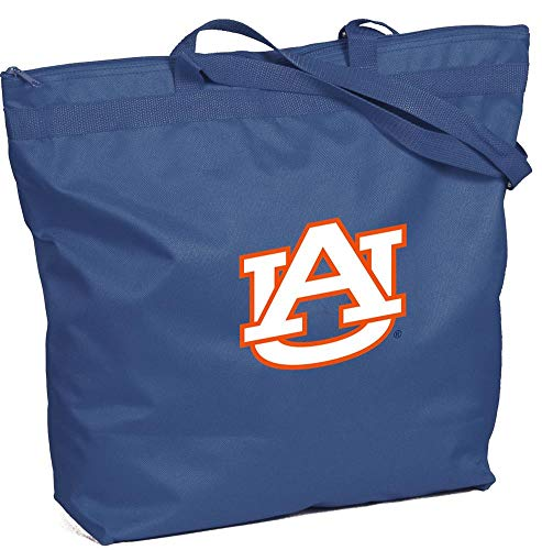 NCAA Auburn Tigers Zippered Tote Bag