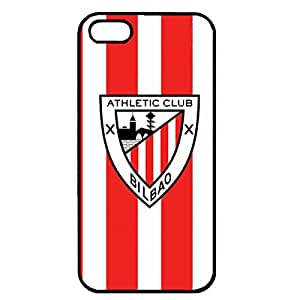 Athletic Club de Bilbao Phone Case Cover For Iphone 5/5S,Black Hard Plastic Case Cover For Iphone 5/5S