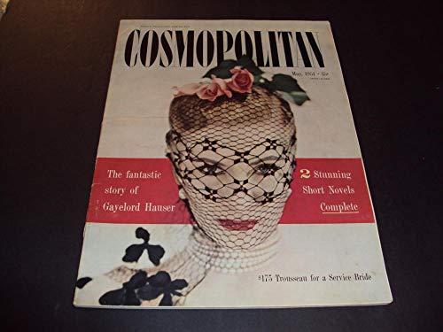 Cosmopolitan May 1951 Gayelord Hauser Story, 2 Short Novels No Label