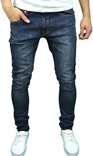 Soulstar Mens Boys Designer Branded Skinny Fit Stretch Jeans