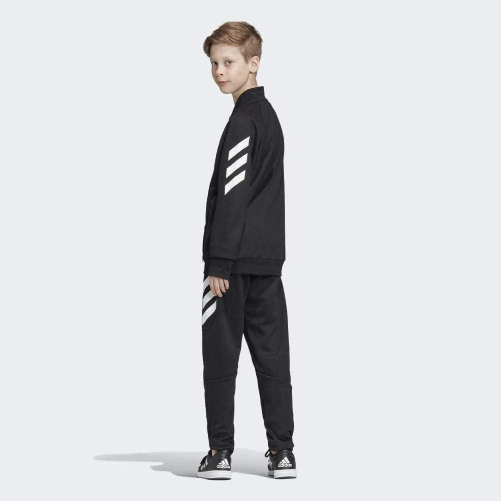 adidas Yb Xfg TS Chandal, Niños, Negro (Black/White), L (Talla ...