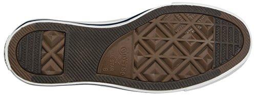 Womens Converse All Star Chuck Taylor Ochsen Schnürsenkel Low Top Canvas Sneakers Optisches Weiß