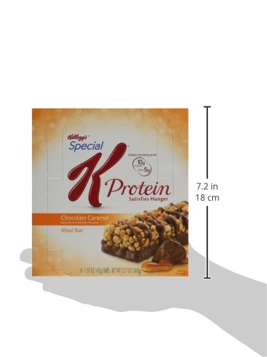 Kellogg's Special K Protein Meal Bars, Chocolate Caramel, Bulk Size, 48 Count (Pack of 6, 12.7 oz Trays) by Special K (Image #9)