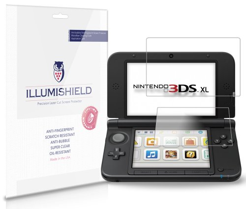 nintendo-3ds-xl-screen-protector-3-pack-illumishield-japanese-ultra-clear-hd-film-with-anti-bubble-a