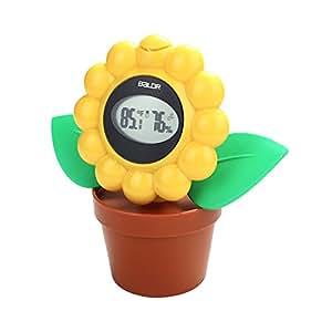 Balder Digital–Higrotermómetro en forma de flor con la temperatura y la humedad gráfico