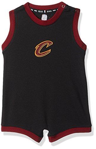 NBA Infant Replica Wordmark Alternate Romper Cleveland Cavaliers-Burgundy-18 Months