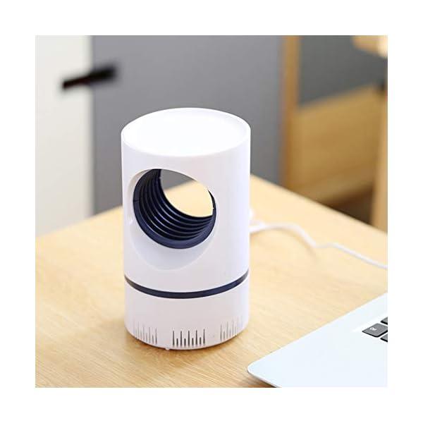 Lixada 2021 - Lampada antizanzare con luce UV, non tossica, non tossica, senza sostanze chimiche, USB, per camera dei bambini, soggiorno, ufficio, interni 3 spesavip