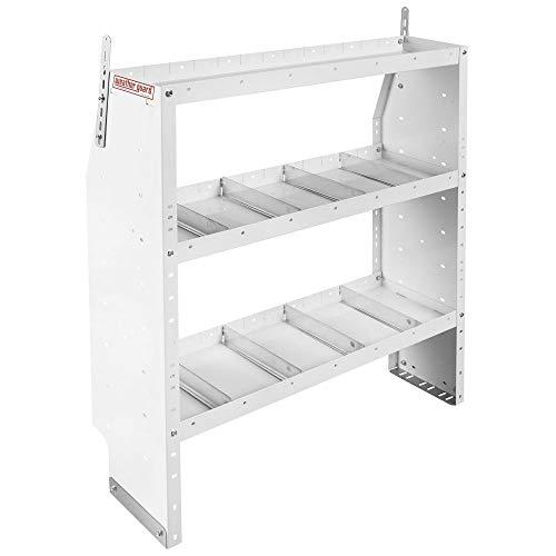 (Weatherguard Adjustable 3 Shelf Unit, 44in x 42in x 13.5in)