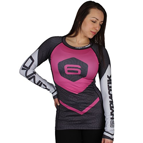 Hypnotik x Onnit Invitational 6 Rashguard - Pink - Medium