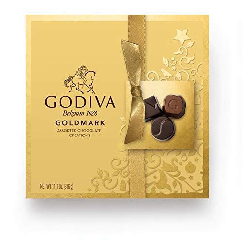 - Godiva Belgium Goldmark Assorted Chocolate Creations Gift Box - 11.1 oz.