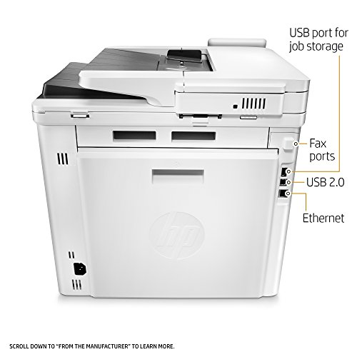 HP LaserJet Pro M477fdn Multifunction Color Laser Printer with Built-in Ethernet & Duplex Printing (CF378A) by HP (Image #6)