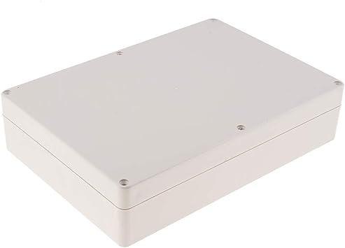 F Fityle Caja Eléctrica Carcasa de Proyecto de Plástico Extruido, 265x185x60mm, Reemplazos de Repuestos DIY: Amazon.es: Electrónica
