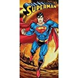 Superman Firely Planet Beach Towel