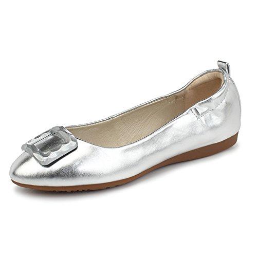 Zapatos de moda/Zapatos de tacón plano/Rollo de huevo dulce cómodo zapatos/Zapatos de arco B
