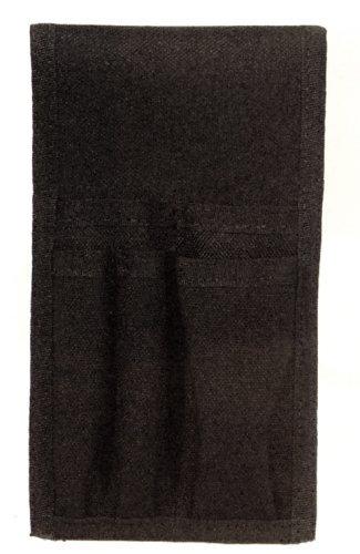 HWC EMT EMS PARAMEDIC 5-Pocket Black Nylon Holster Holder Case with Belt Loop