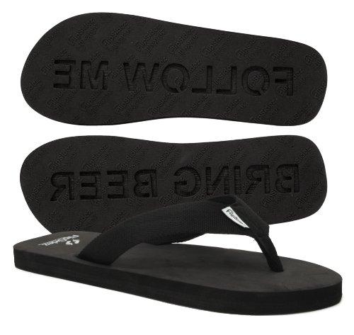 FlipSidez FOLLOW ME BRING BEER Sandals