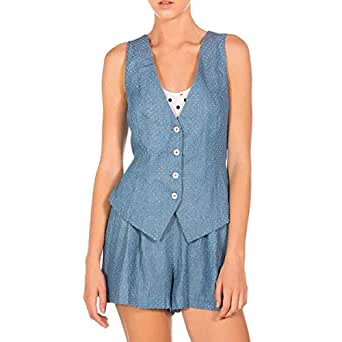 Whitney Eve WESP14-RP01 Jumpsuit for Women - 4 US, Blue