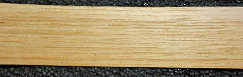 "Hickory/Pecan wood veneer edgebanding 1-5/16"" x 10"