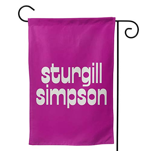- LIKUNMIN Sturgill Simpson Logo Seasonal Garden Flags 27