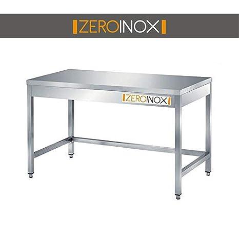 ZeroInox Tavolo in Acciaio Inox Professionale, Tutte Le ...