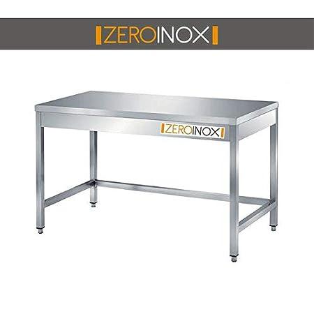 ZeroInox - Mesa de Acero Inoxidable Profesional, Todas Las Medidas ...