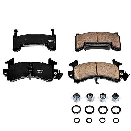 Power Stop 17-154, Z17 Evolution Ceramic Front Brake Pads