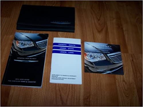 2012 Chrysler Town And Country Owners Manual Chrysler Amazon Com