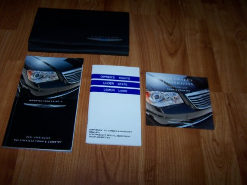2012 Chrysler Town and Country Owners Manual (2010 Chrysler Town And Country Owners Manual)