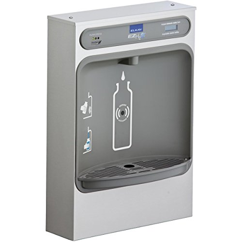 - Elkay LZWSSM EZH2O Bottle Filling Station Surface Mount, Filtered Non-Refrigerated Stainless