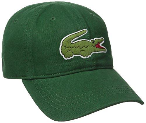 - Lacoste Men's Classic Big Croc Gabardine Cap, Green, One Size