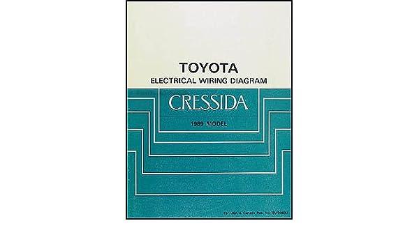 1989 Toyota Cressida Wiring Diagram Manual Original: Toyota: Amazon.com:  BooksAmazon.com