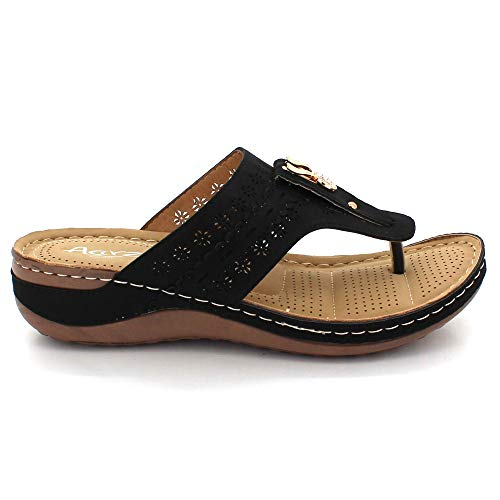morbida Sandali e sportivi punta da per donna sandali donna medio Scarpe con tacco qn8Fw16E