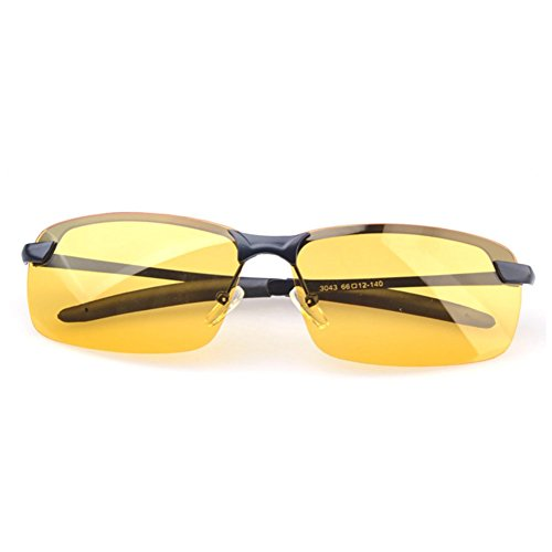 A-Roval Men Polarized Touring Rectangular Large Driving Metal Sunglasses - Buy Where Paul To Frank