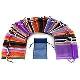 108 pcs drawstring Organza Jewelry Pouch Bags by Aketek