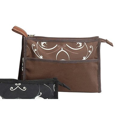 UPC 044759286230, Travelwell Iris Cosmetic Case [Set of 4] Color: Brown