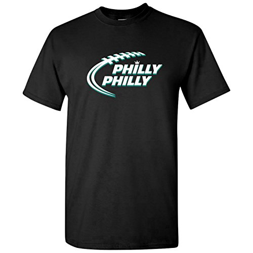 UGP Campus Apparel Philly Philly Football - Philadelphia Football Dilly Dilly Bowl Party T Shirt - 2X-Large - (Eagles Football T-shirt)