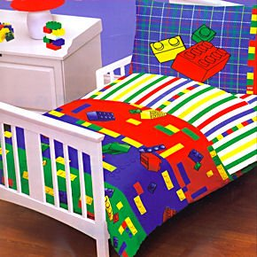Legos Kids Bed In A Bag Toddler/Crib Bedding Set