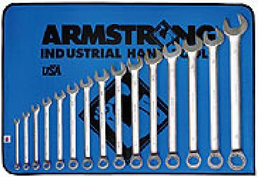 15 Piece Combination Wrench Set Long Pattern Sat