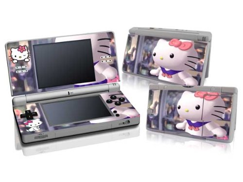 - Hello Kitty Pattern Vinyl Skin Sticker Decal for Nintendo DS Lite NDSL