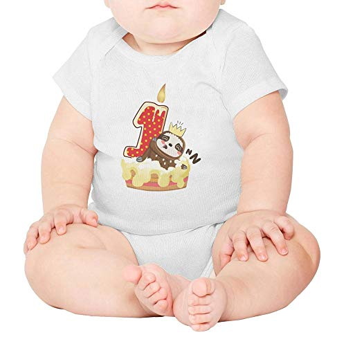 Toda Mafalda Baby Girl Boy Clothes First Birthday Sloth Newborn Toddler Onesies -