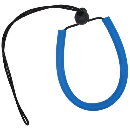 Scuba Choice Diving Adjustable Wrist Lanyard, Black Aqua Edge - CA SCLY-01-BK