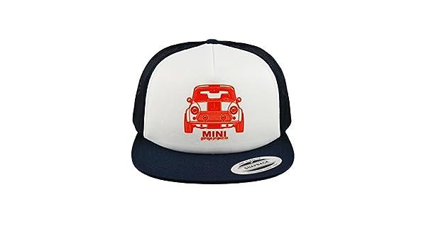 Amazon.com  GarageProject101 Classic Mini Front Baseball Mesh Cap Snapback Trucker  Hat  Clothing eef1e2c7489b