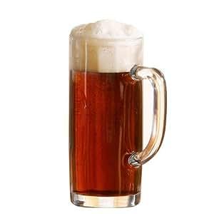 Arcoroc Minden Beer Taza 380ml, la marca de llenado en at 300ml, 6 Tazas