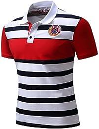 Men's Cotton Short Sleeve Polo Shirts
