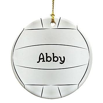 Amazonde Volleyball Personalisierte Rund Weihnachten