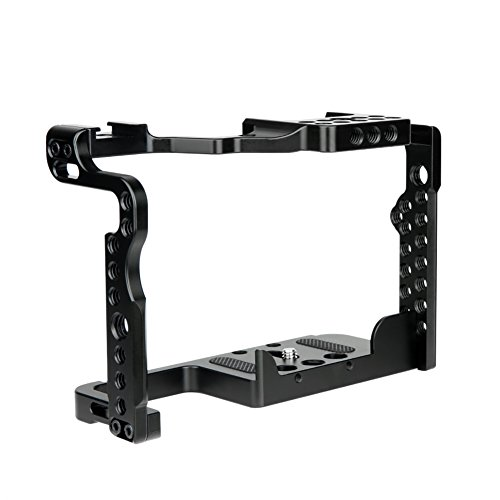 NICEYRIG GH5 GH5s Camera Cage with Cold Shoe NATO Rail Compatible with Panasonic GH5s GH5
