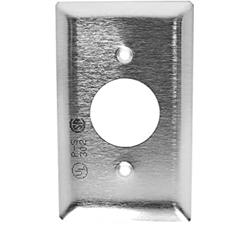 Fits GFCI Duplex Receptacles Marinco 7879CR-FI Marine Stainless Steel Waterproof Electrical Cover with Lift Lid