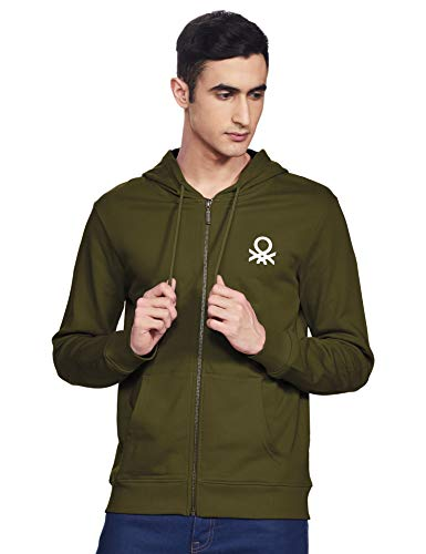 United Colors of Benetton Men Hooded Sweatshirt