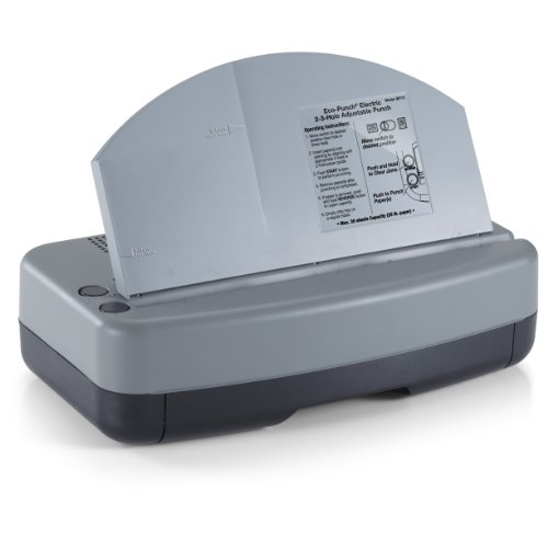 Price comparison product image OfficemateOIC Eco-Punch Electric Punch 2-3 Hole Adjustable,  30-Sheet Capacity,  Recycled (90115)
